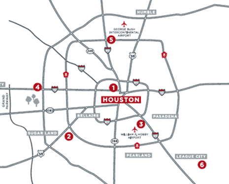 Houston Locations
